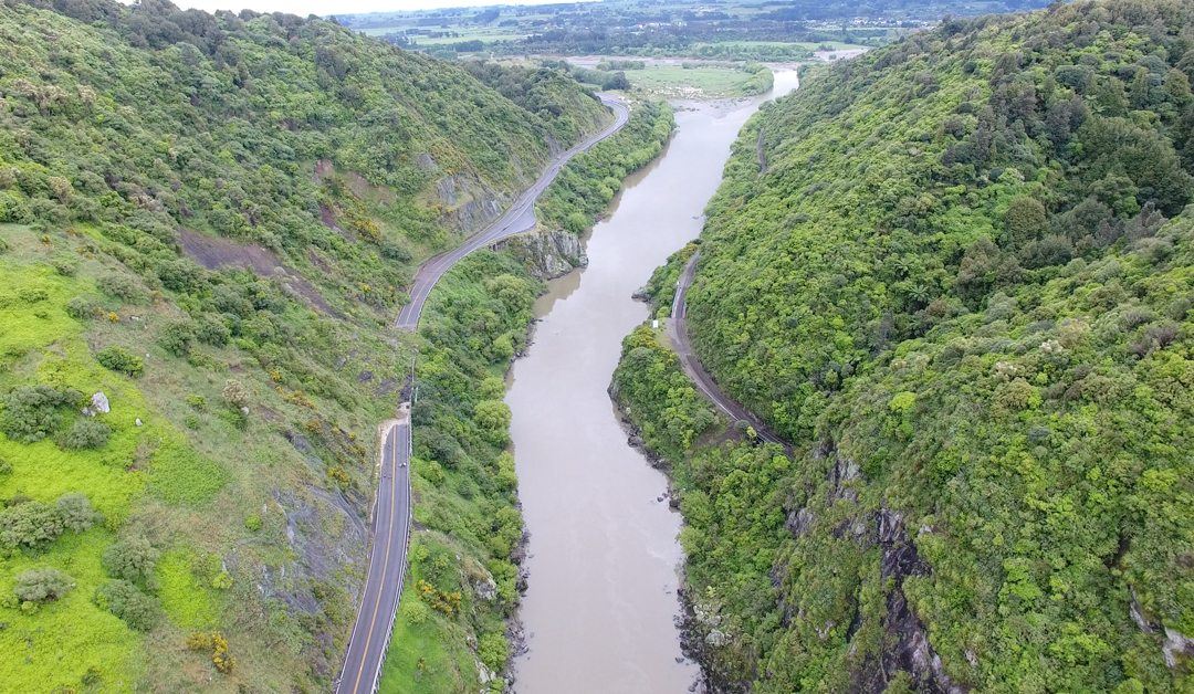 Manawatu Gorge Slip